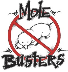 Mole Line Art for Molebusters®